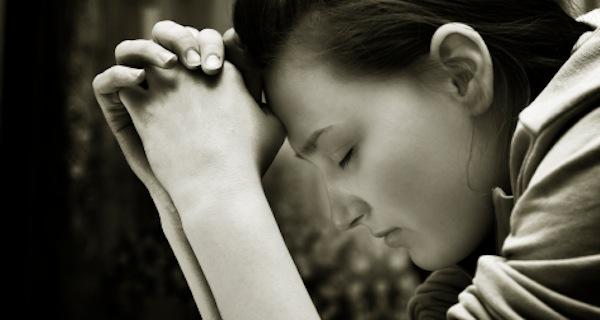 How Should We Pray - Woman Praying