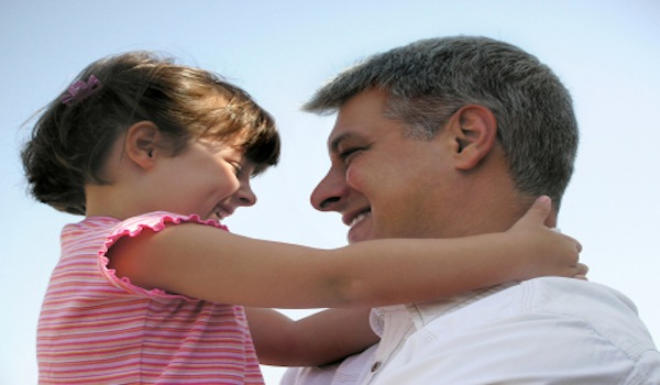 Daddy Issues - Daughter Hugging Her Father