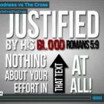 Goodness VS The Cross