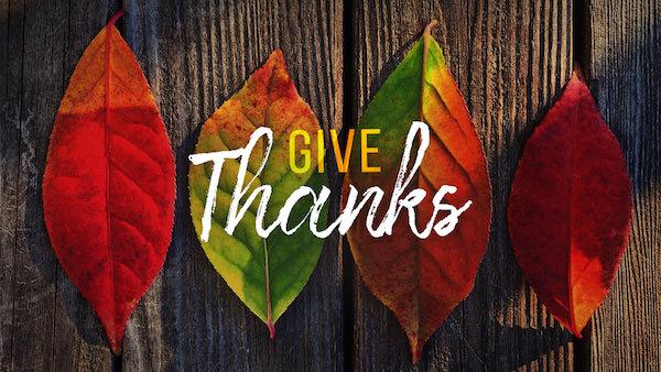 Scripture on Thankfulness