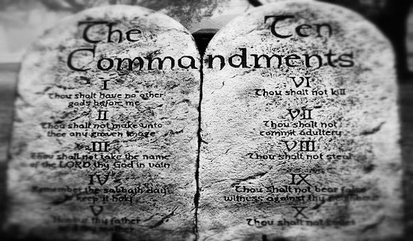 The Ten Commandments - 10 Commandments