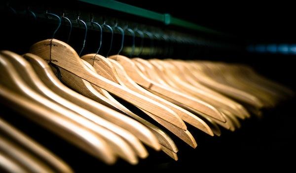 Purge - Hangers in Closet