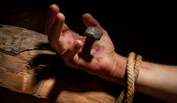 Only One Gospel - Hand Nailed to Cross
