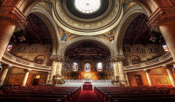 Scripture on Church - Inside church building