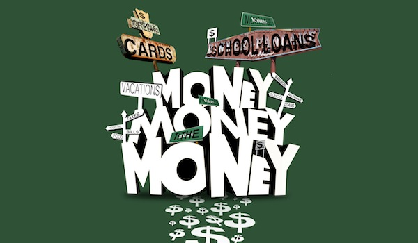 Scripture on Money - Dollar Bills