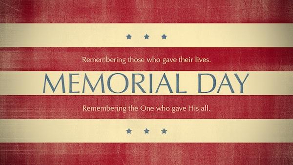 Scripture On Memorial Day