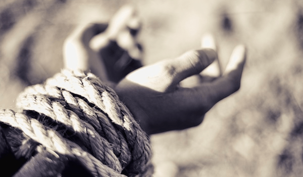 Scripture on Persecution - Hands Tied