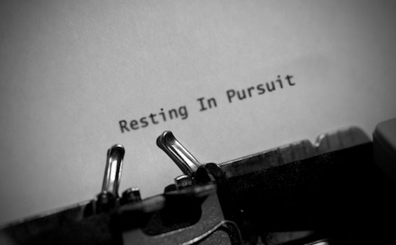 Belonging - Resting in Pursuit Picture
