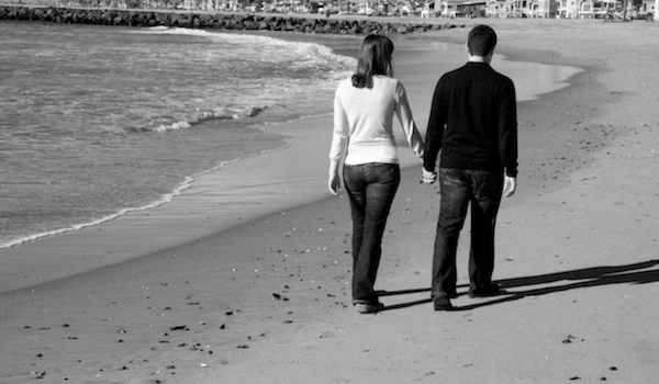 Questions To Ask Your Spouse - Married Couple Walking