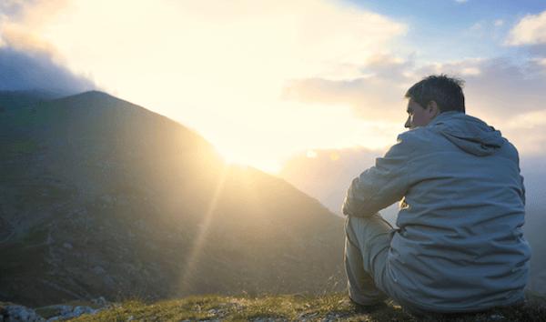 Resultado de imagem para We find contentment at the same place we find salvation—in God.