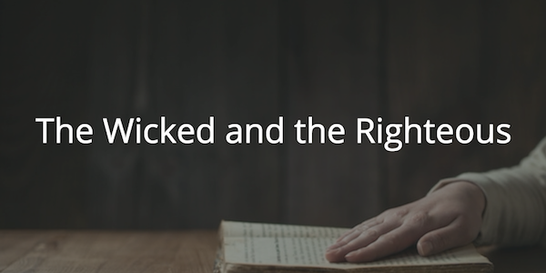 Proverbs 28: The Wicked and the Righteous