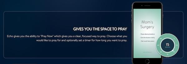 The Echo Prayer App Timers